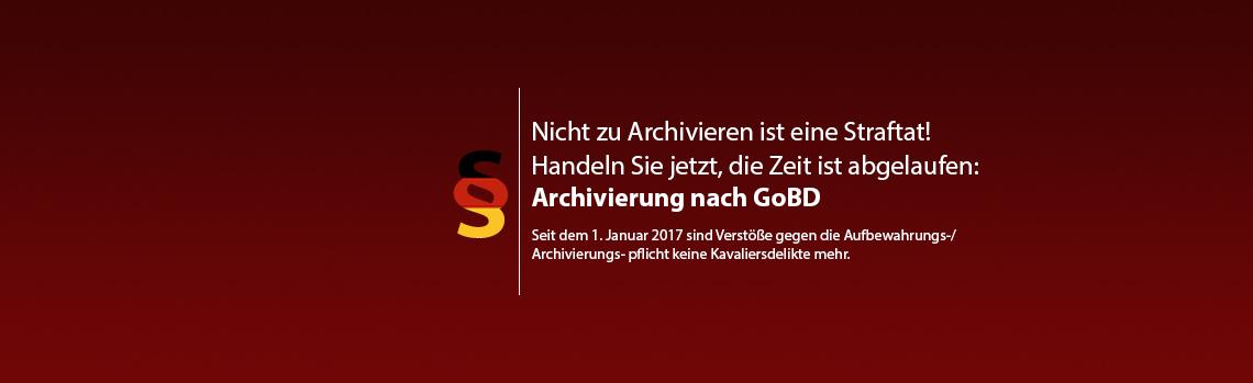Archivierung nach GoBD